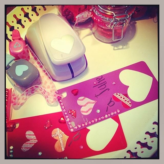 bricolage signets pour la st valentin diy mamanbooh. Black Bedroom Furniture Sets. Home Design Ideas