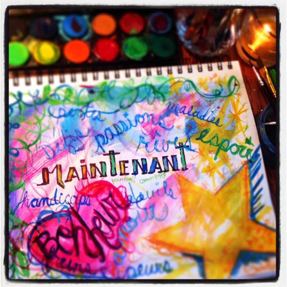 Le pouvoir des couleurs Julie Philippon @mamanboon
