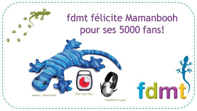 5 000 fans pour Mamanbooh concours fdmt