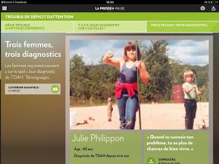 Recevoir un diagnostic à l'âge adulte #TDAH Julie Philippon