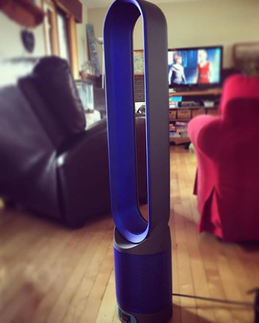 J'ai testé le nouveau appareil Dyson Pure Cool™ Link par Julie Philippon