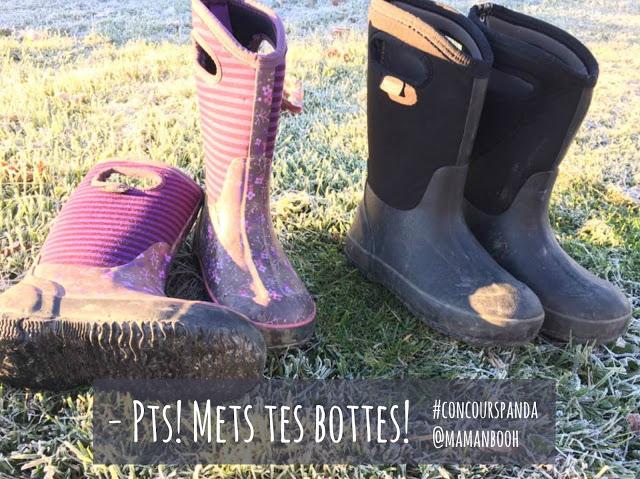 Mets tes bottes! #concourspanda