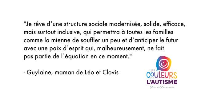 Autisme, les couleurs de Léo et Clovis #30couleurs