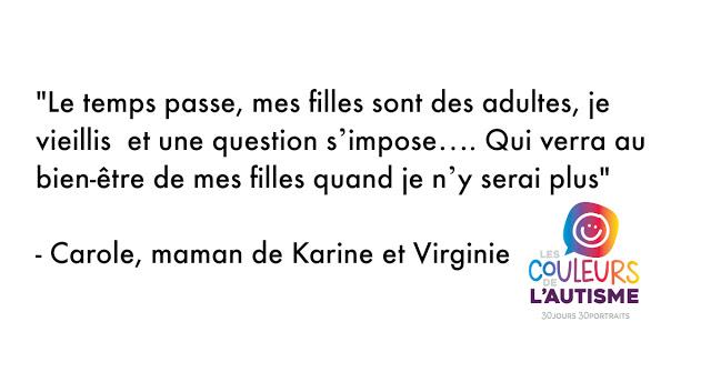 Autisme, les couleurs de Karine et Virginie #30couleurs