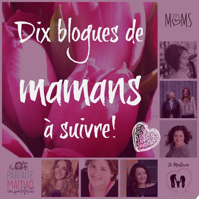 Quels blogues de mamans vous aimez suivre? #concours!