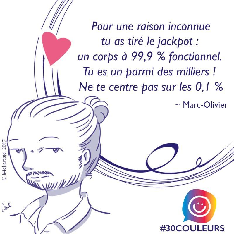 Diversité corporelle: l'histoire de Marc-Olivier #30couleurs
