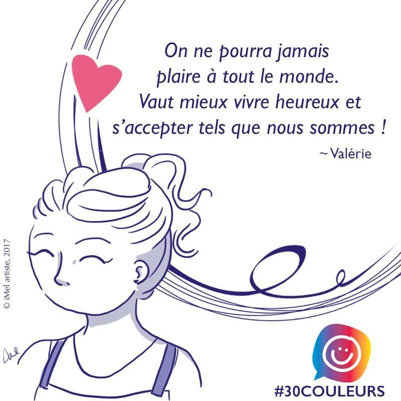 Diversité corporelle: l'histoire de Valérie #30couleurs