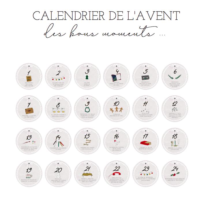 10 calendriers de l 39 avent originaux et gratuits. Black Bedroom Furniture Sets. Home Design Ideas
