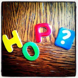 Hop! Mon mot-phare de 2012