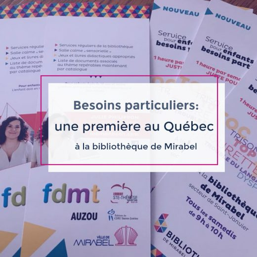 Besoins particuliers: une première au Québec
