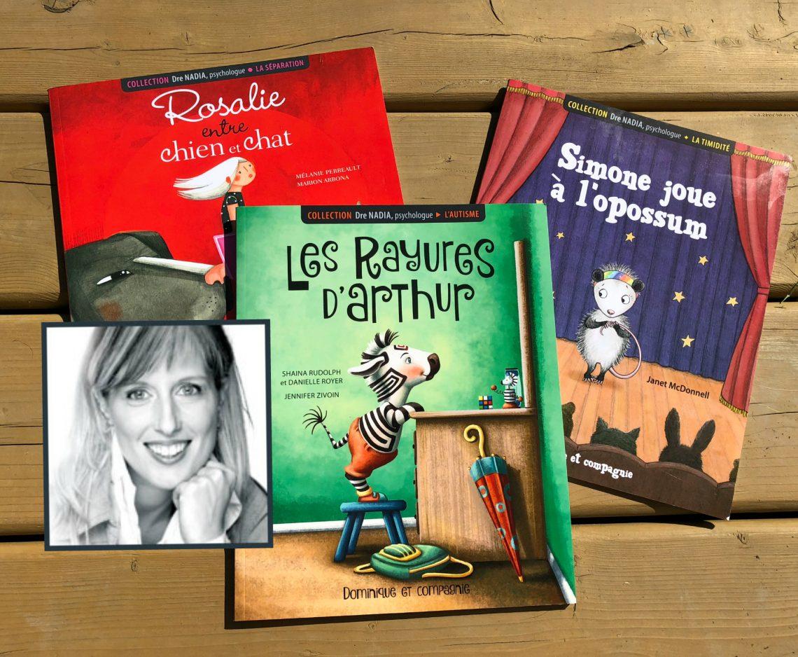 Dre Nadia lance une nouvelle collection de livres