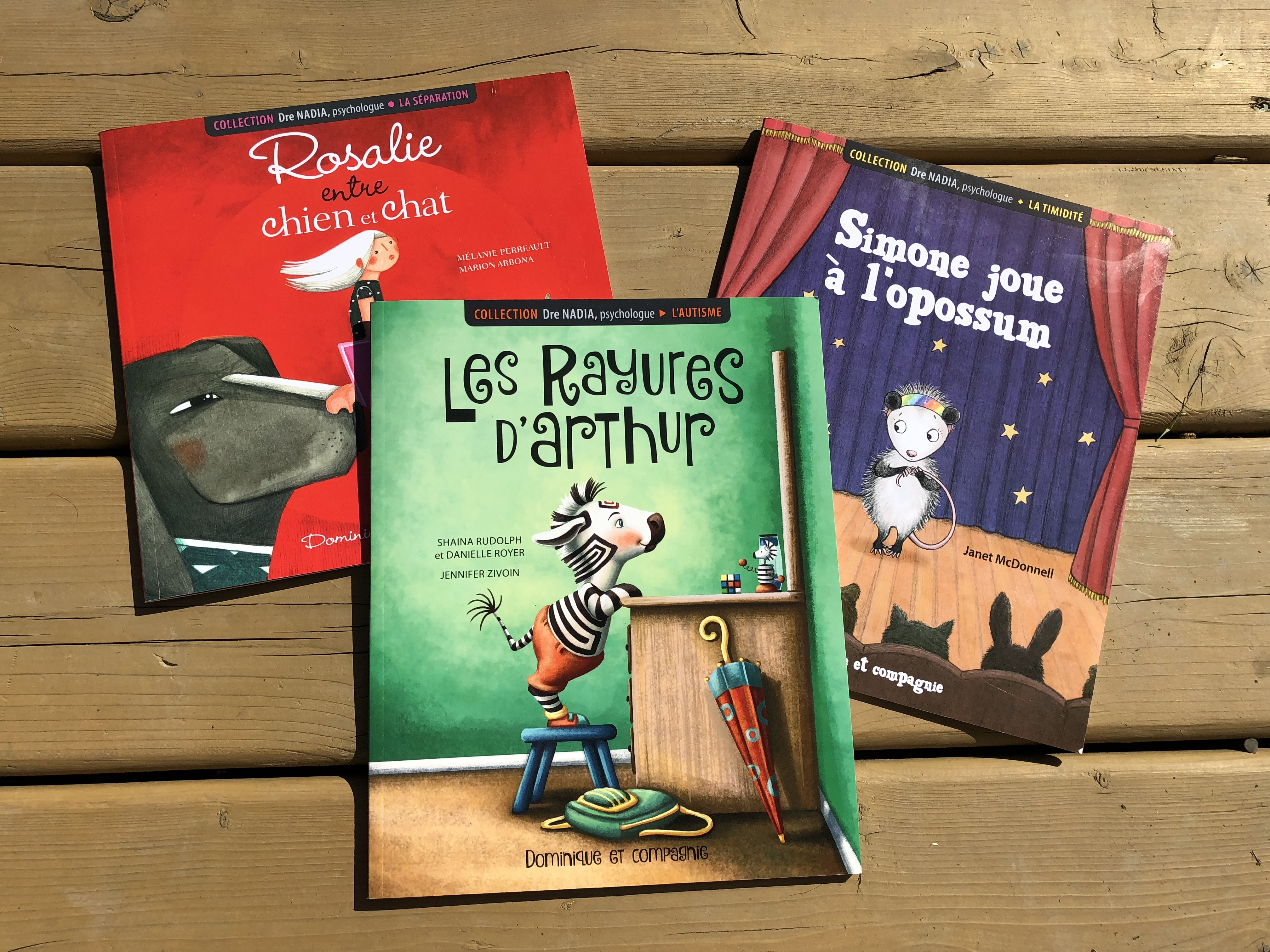 Nouvelle collection de livres de Dre Nadia