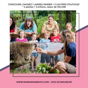Concours ZOO ECOMUSEUM par Mamamanbooh