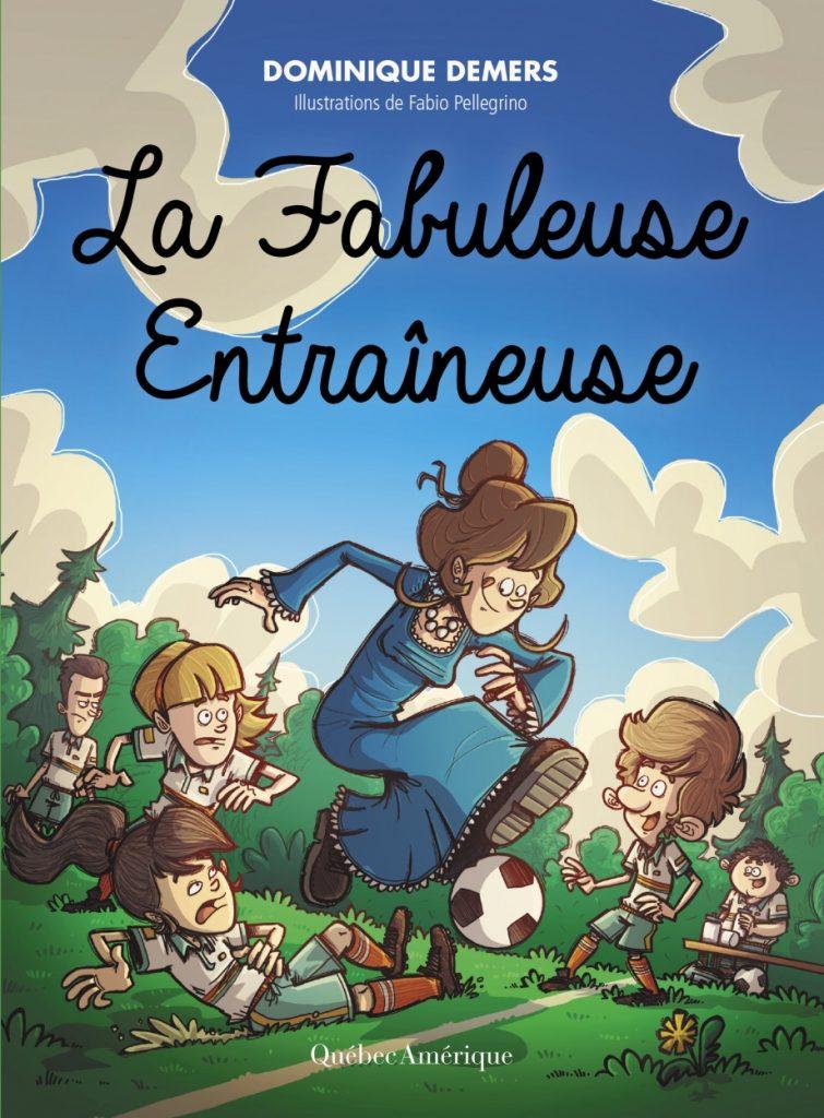 livre enfant différent La Fabuleuse entraîneuse