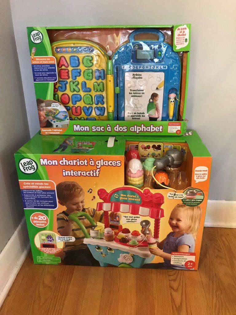 VTech et LeapFrog proposent des jouets interactifs pour tous âges