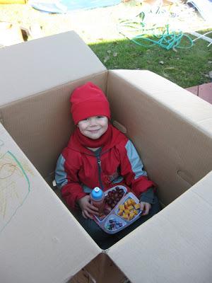 Le secret est...dans la boîte!
