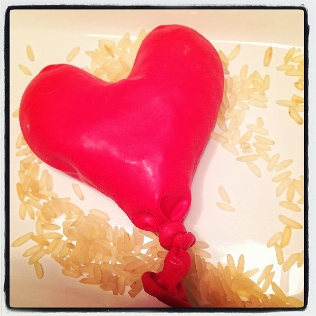 St-Valentin: balle anti-stress en forme de coeur! #DIY