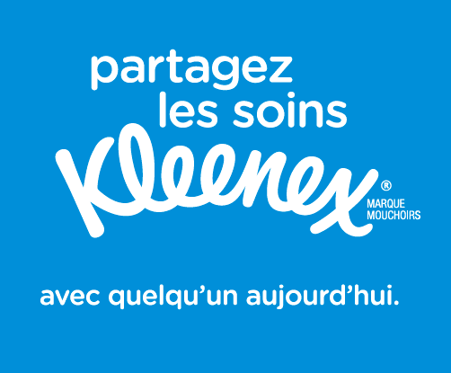 #partagezlessoinskleenex défi Julie Philippon Châtelaine Kleenex