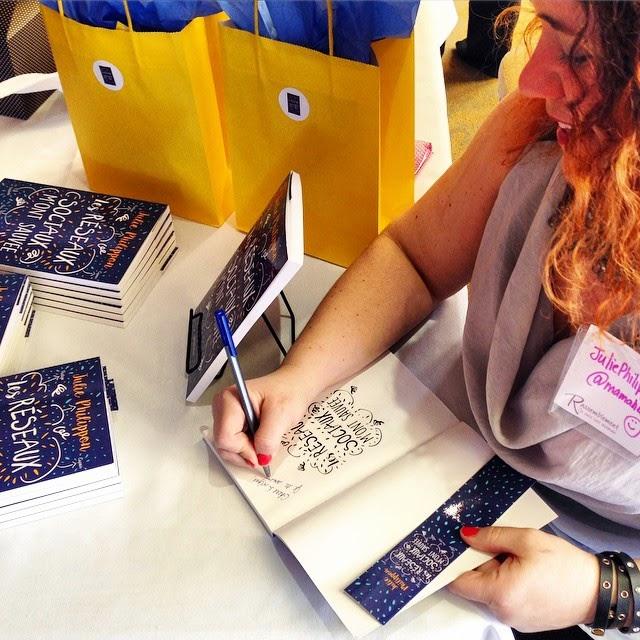 livre signature Julie Philippon
