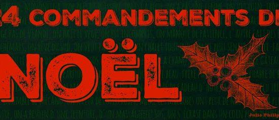 24 commandements de Noël