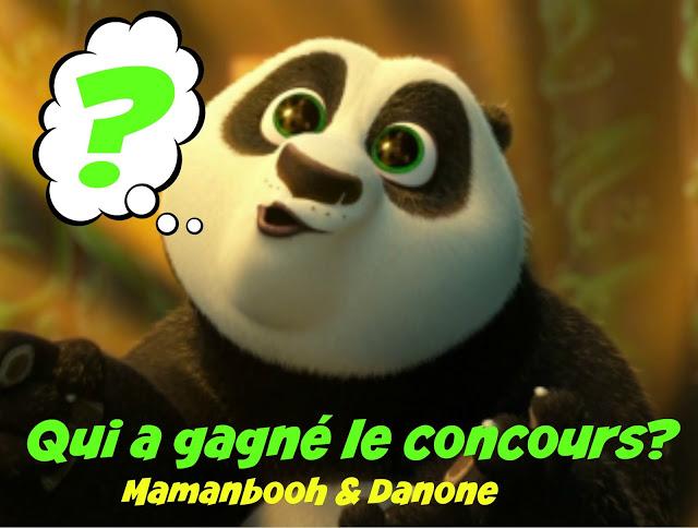 Concours Kung Fu Panda avec Danone Julie Philippon