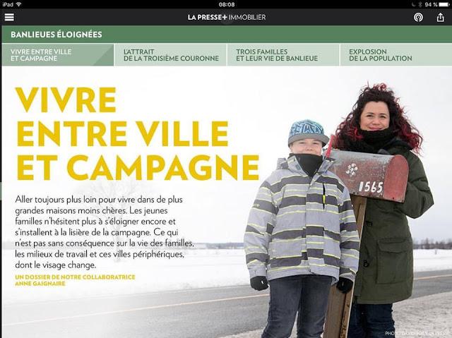 Vivre à la campagne, LaPresse+ Julie Philippon