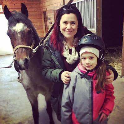 Ça sent l'cheval!  Julie Philippon #mamanpg