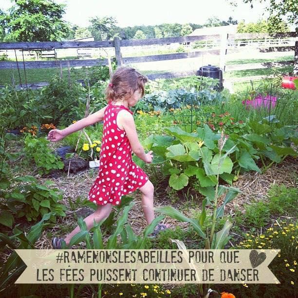 C'est le temps de passer au jardin! #ramenonslesabeilles #concours Julie Philippon