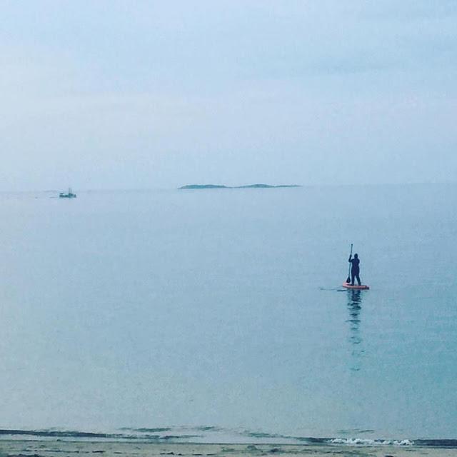 Pendant quelques instants, j'ai surfé sur l'eau! #SUP par Julie Philippon