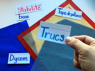 Comment organiser la surface de travail d'un enfant qui a des difficultés motrices? 1re partie