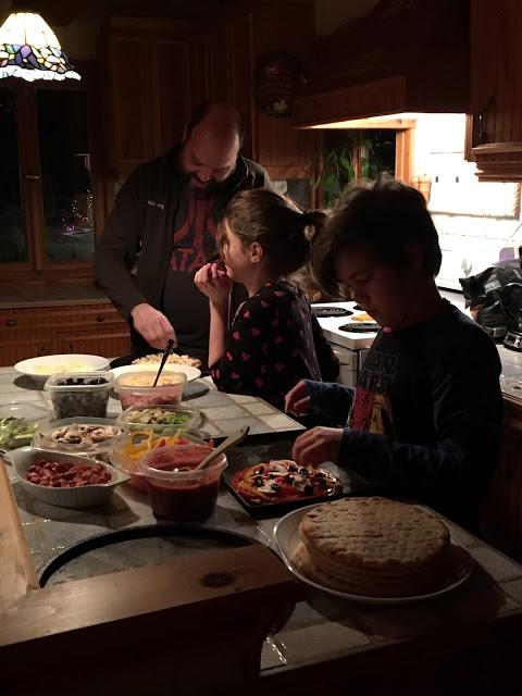 «L'importance du moment»: cuisiner en famille!