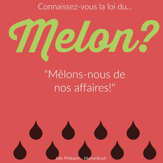 La loi du melon, version Instagram - crédit Julie Philippon