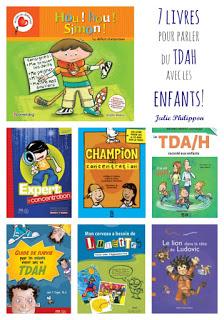7 livres sur le tdah pour en parler aux enfants!