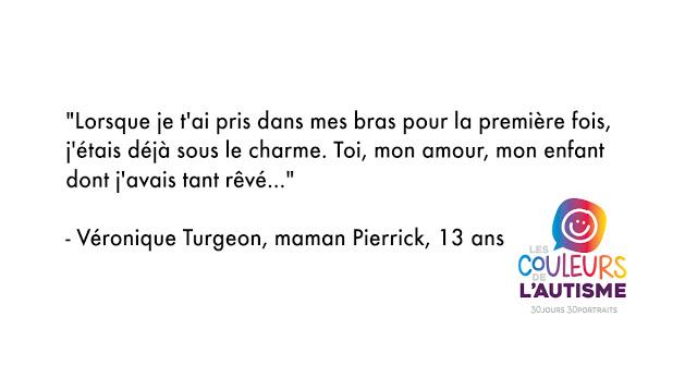 L'autisme, la couleur de Pierrick #30couleurs - mamanbooh
