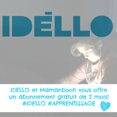 IDÉLLO: code promo GRATUIT!!!! #collabo Julie Philippon @mamanbooh