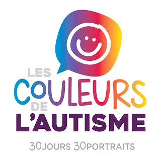 """Les couleurs de l'autisme """" #30couleurs Julie Philippon Mamanbooh"""