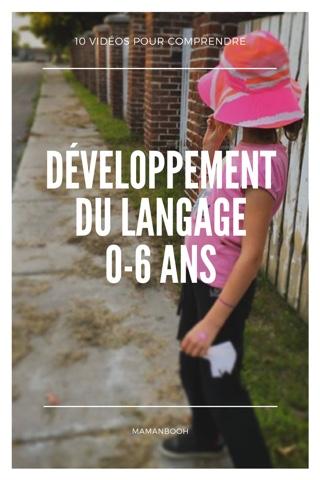 Vidéos sur le développement du langage