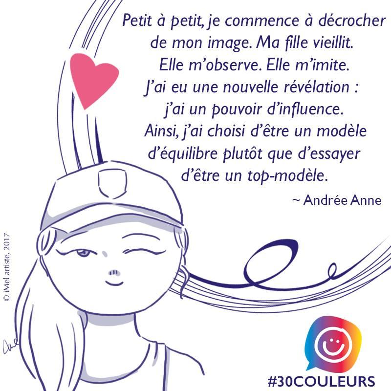 Diversité corporelle: l'histoire de Andrée-Ann #30couleurs