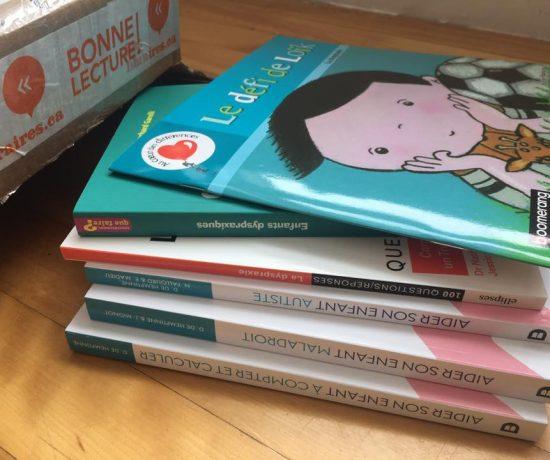 5 nouveaux livres sur la dysraxie