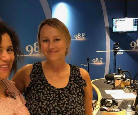 Entrevue pour une rentrée Zen au 98,5 FM avec Julie Philippon