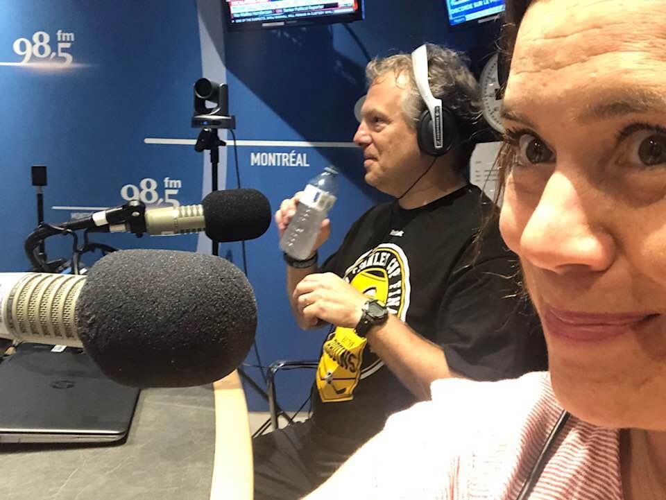 Entrevue Radio Julie Philippon 98,5 FM