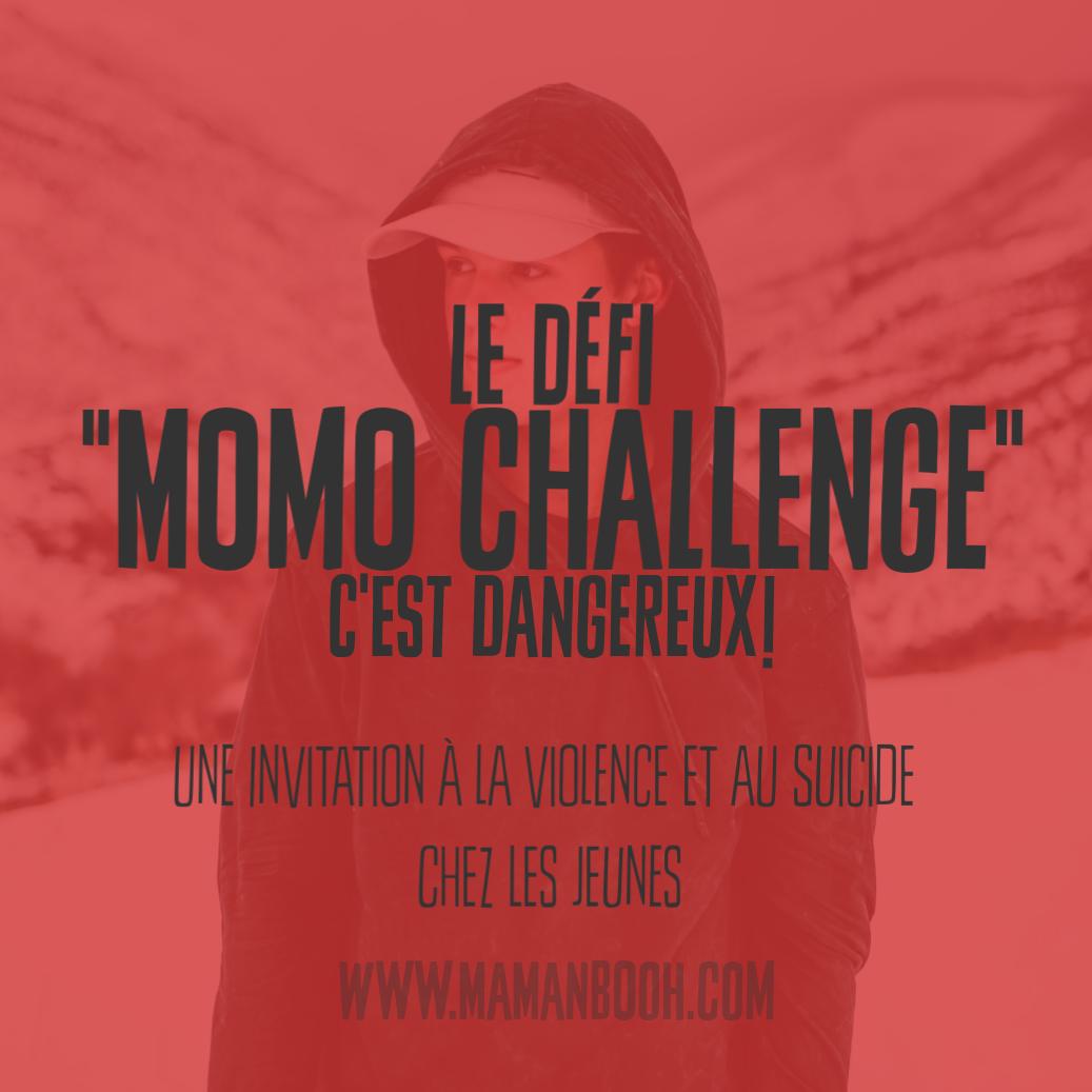 """Le défi """"momo challenge"""", c'est dangereux"""