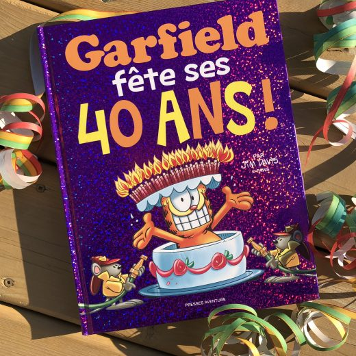 Garfield 40 ans