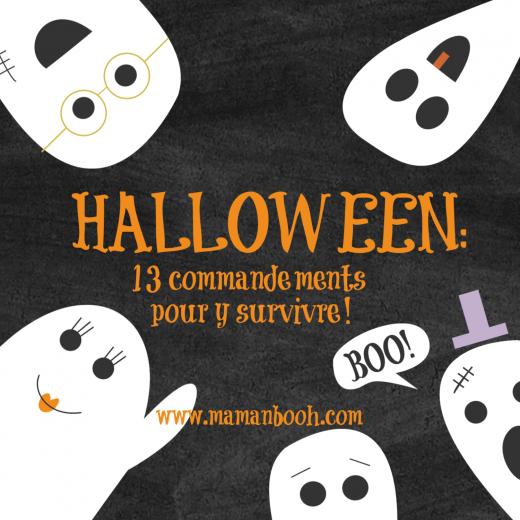 Halloween: 13 commandements!
