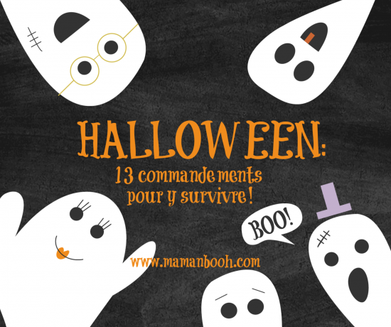 Halloween: 13 commandements!