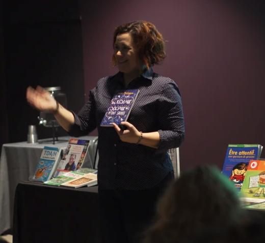 Reportage sur le TDAH avec Julie Philippon, conférencière