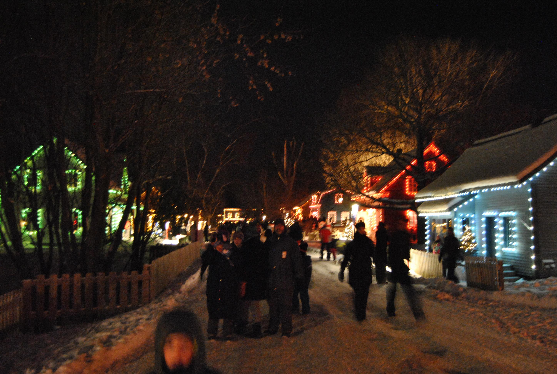 Une visite féérique au Village illuminé Desjardins: le marché de Noël
