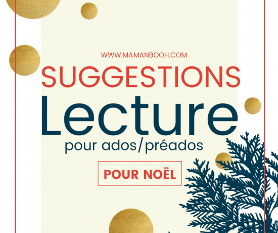 SUGGESTIONS lecture ados Noël