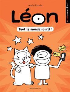 Leon tout le monde sourit BD Annie Groovie
