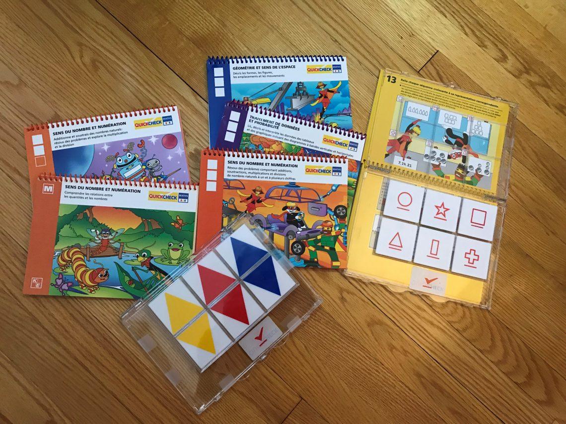 QuickCheck Maths - Cahier de l'élève